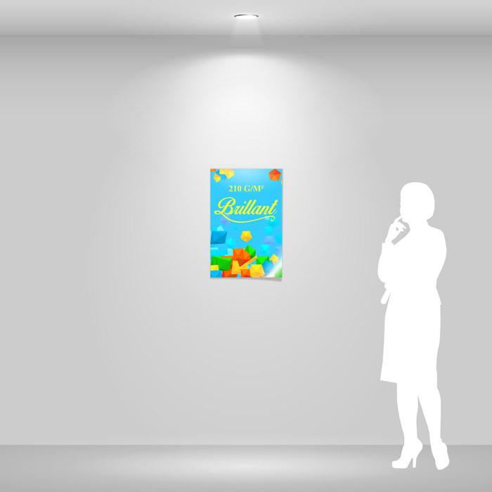 Affiche papier brillant A2