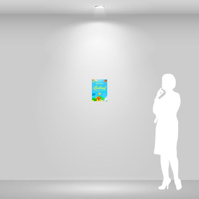 Affiche papier brillant A4