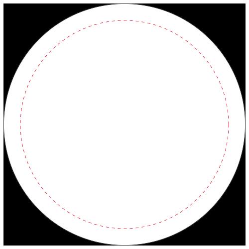 Miroir de poche 7,5 cm-Blanc(#FFFFFF)-Unique