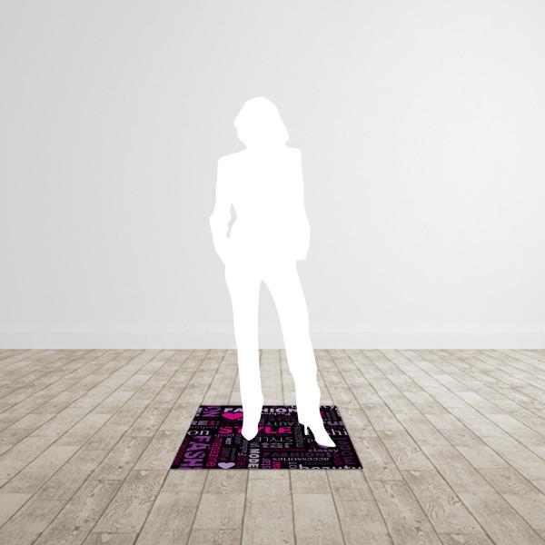 Petit tapis carré 80 * 80 cm