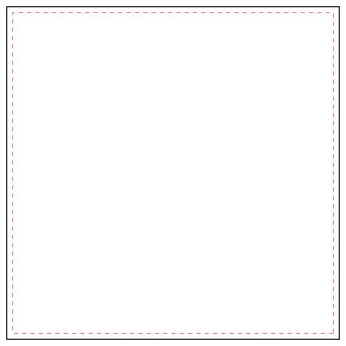 Coussin Carré 55*55 cm -Blanc(#FFFFFF)-Unique