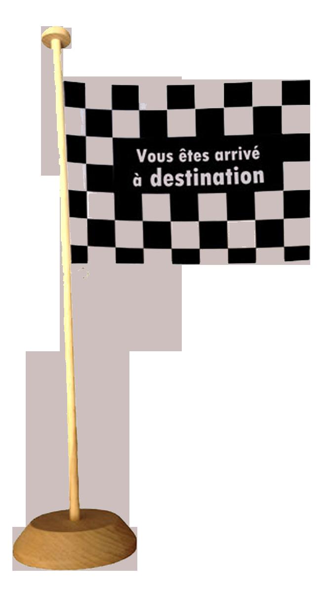 Mini drapeau 22*15 cm