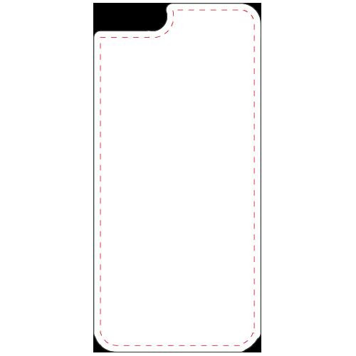 Coque iPhone 6 noir-Vierge(#ffffff)-Unique