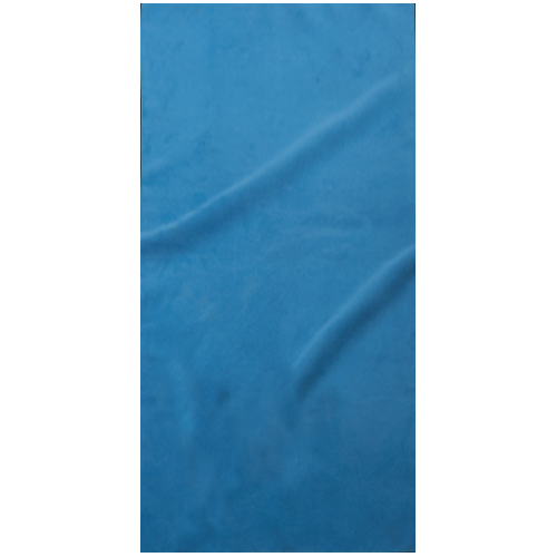 "Serviette sport ""peau de chamois"" 140 cm / 70 cm-Tropical blue(#0285b3)-Unique"