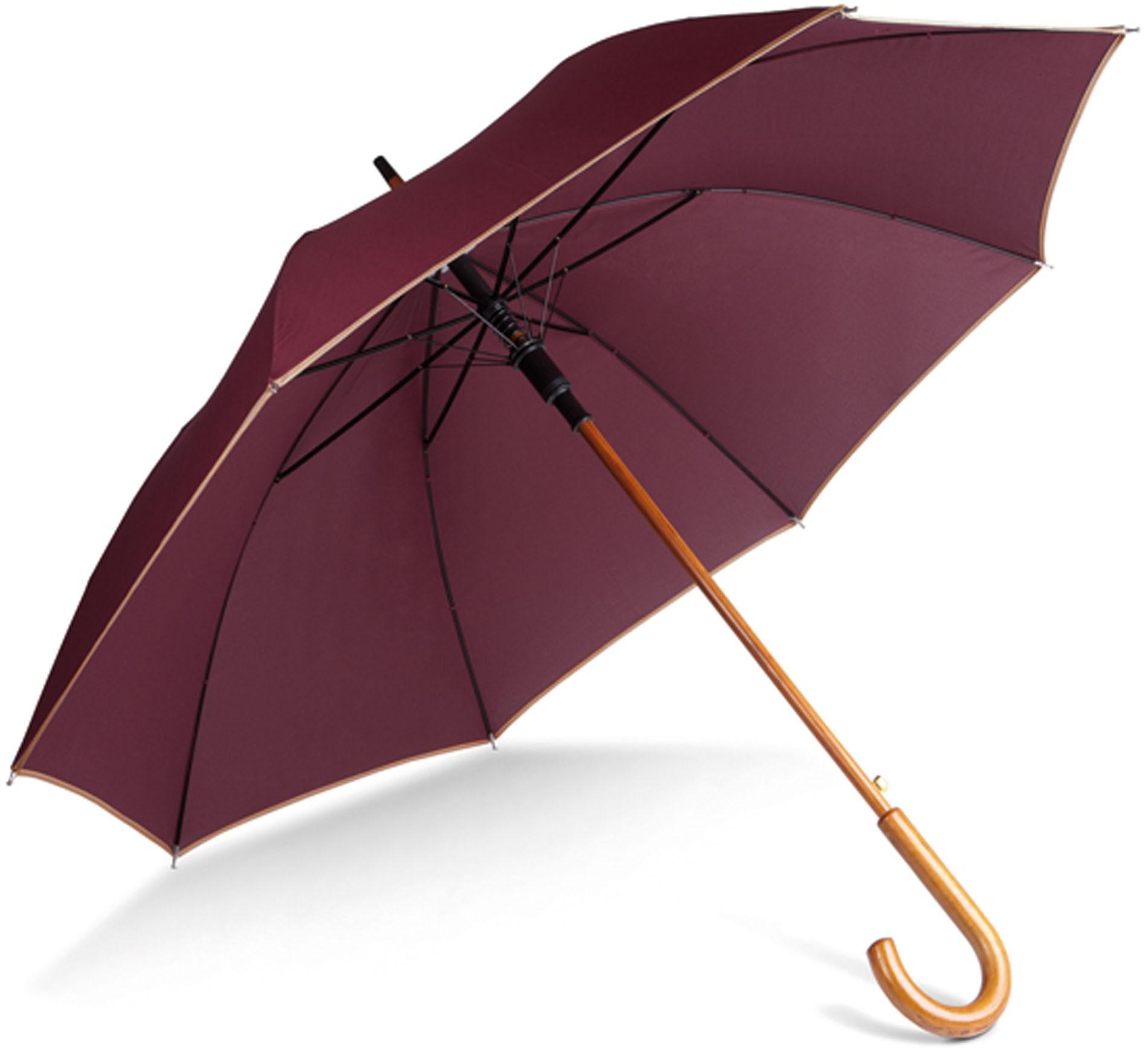 Parapluie poignée bois