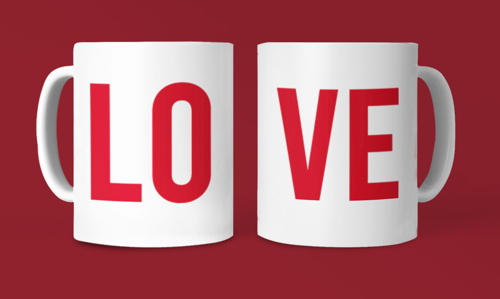 Mug couple love