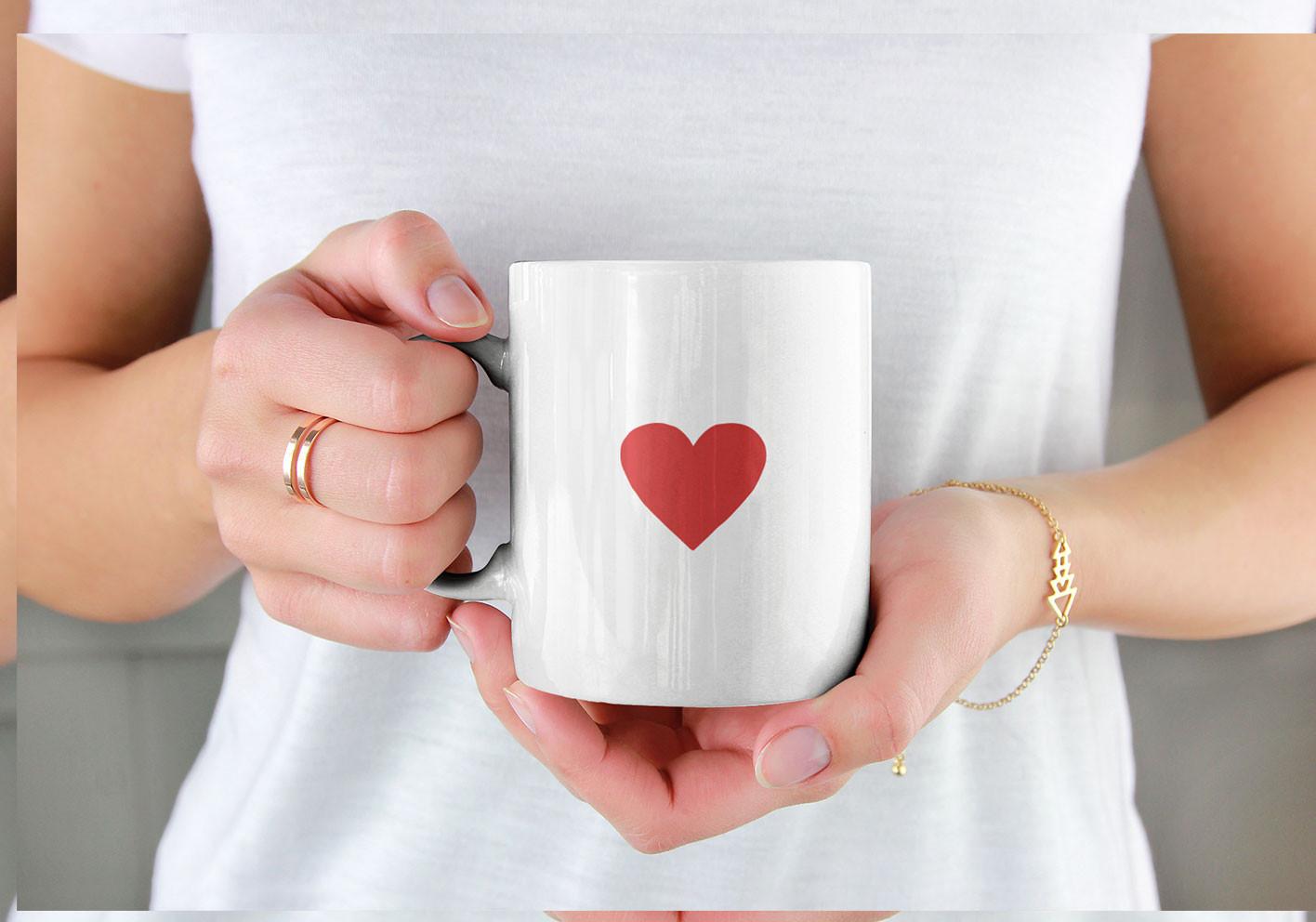 Mug cœur