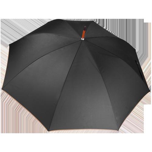 Parapluie poignée bois-Dark grey(#a9a9a9)-Unique