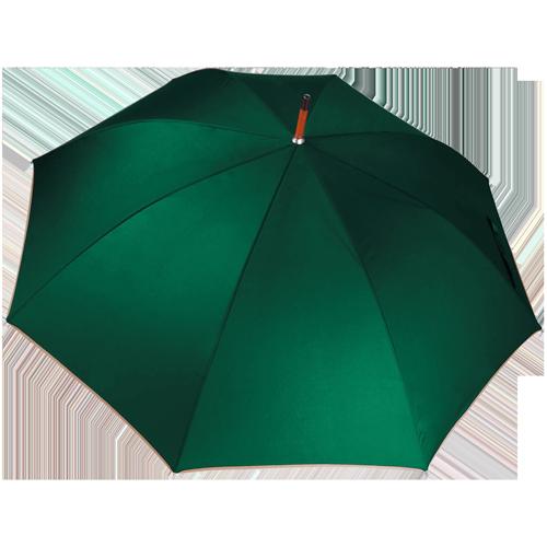 Parapluie poignée bois-Bottle gren(#006a4e)-Unique