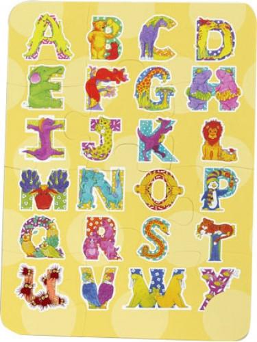 puzzle enfant incassable A4 48 pièces