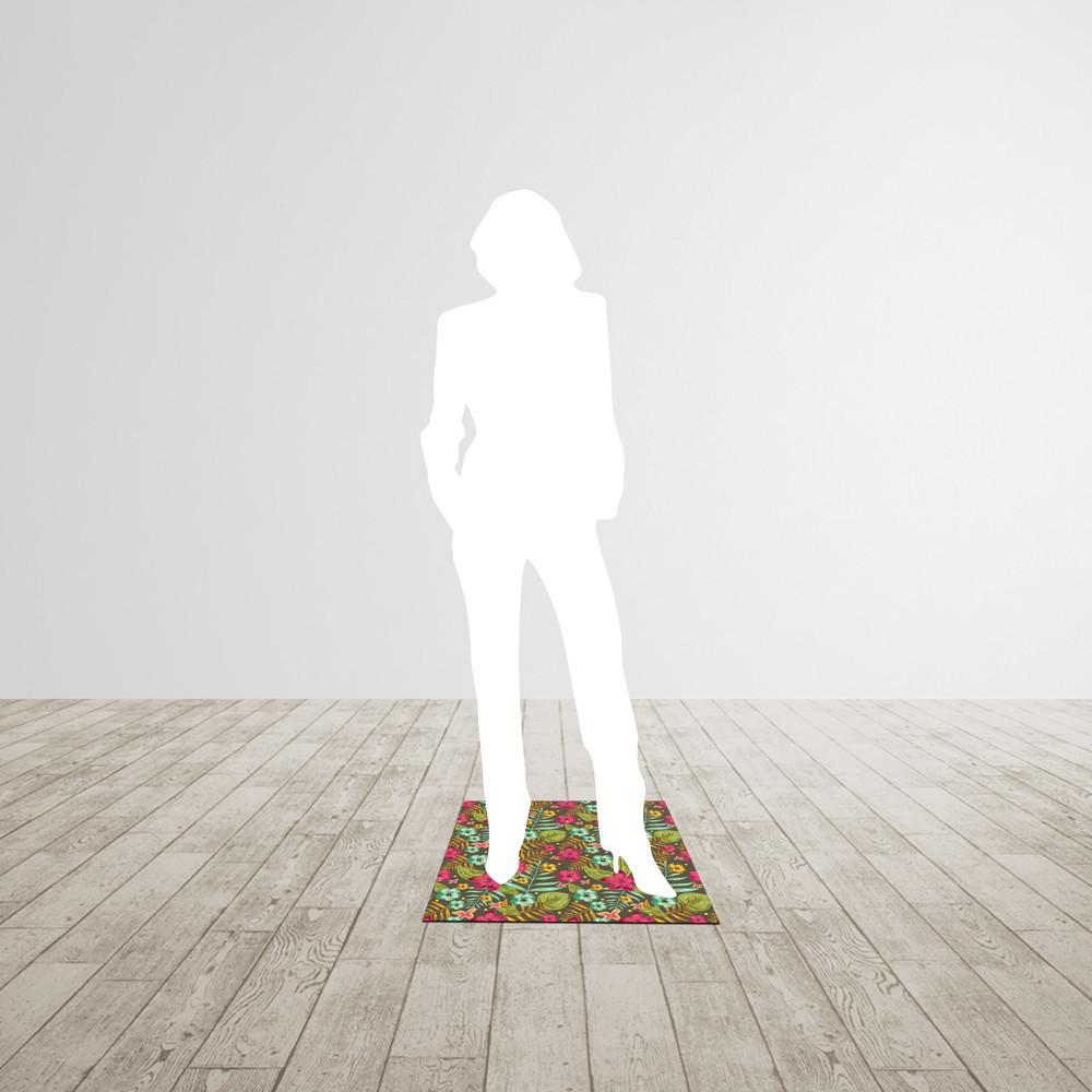 Petit tapis carré 50*50cm