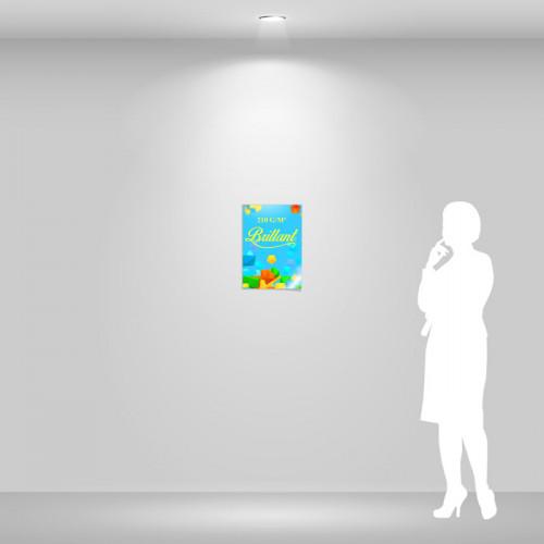 Affiche papier brillant A3