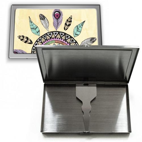 Porte cartes en métal