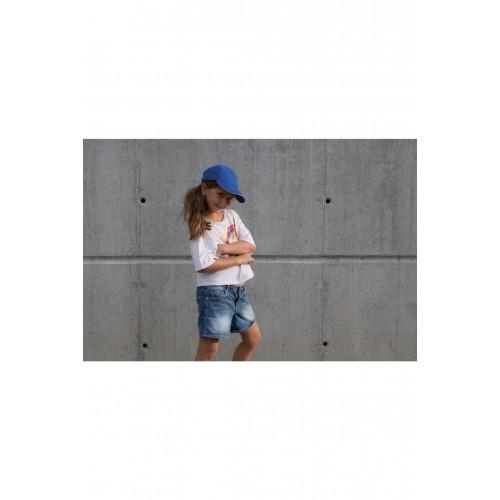 Casquette enfant bi color
