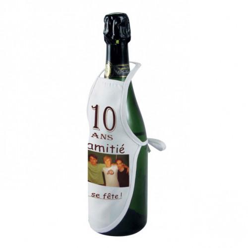 Mini tablier de bouteille