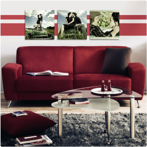Toile canvas 60 x 60 cm